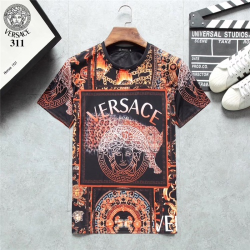 Versace T-Shirts Short Sleeved O-Neck For Men #801119