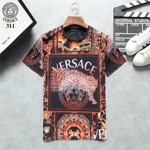 Versace T-Shirts Short Sleeved O-Neck For Men #801119