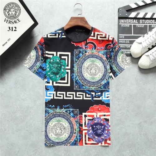 Versace T-Shirts Short Sleeved O-Neck For Men #801123