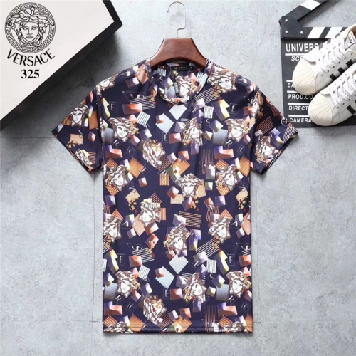 Versace T-Shirts Short Sleeved O-Neck For Men #801133