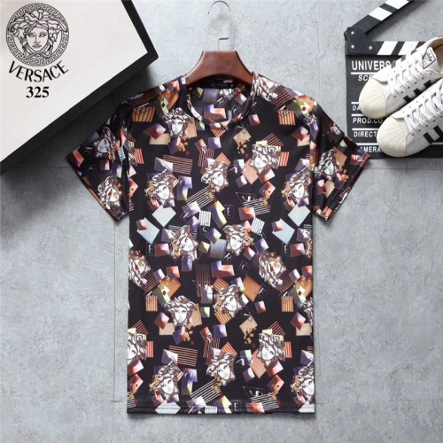 Versace T-Shirts Short Sleeved O-Neck For Men #801135