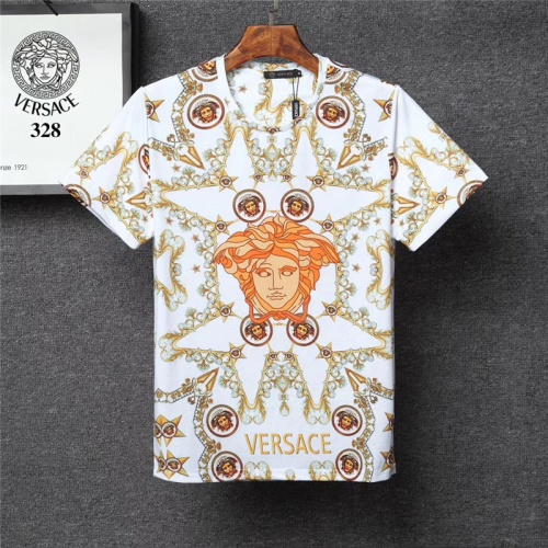 Versace T-Shirts Short Sleeved O-Neck For Men #801137