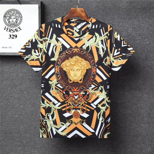 Versace T-Shirts Short Sleeved O-Neck For Men #801139