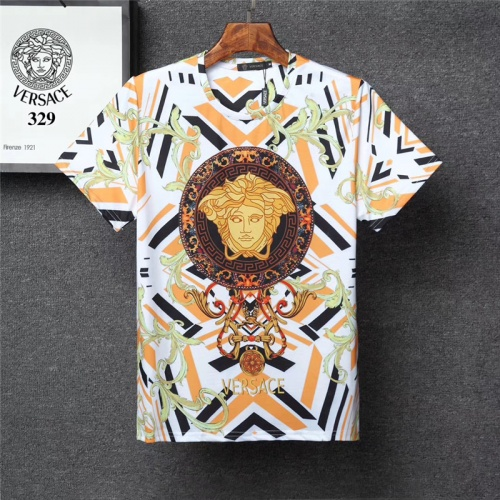 Versace T-Shirts Short Sleeved O-Neck For Men #801140