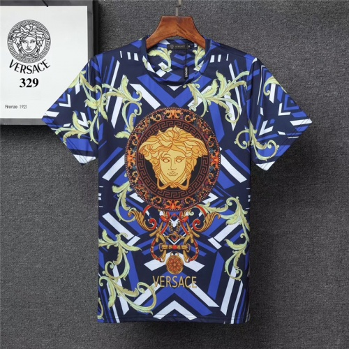 Versace T-Shirts Short Sleeved O-Neck For Men #801141