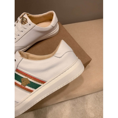 Replica Versace Casual Shoes For Men #801144 $69.84 USD for Wholesale
