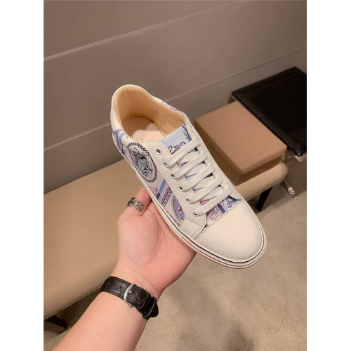 Replica Versace Casual Shoes For Men #801147 $69.84 USD for Wholesale