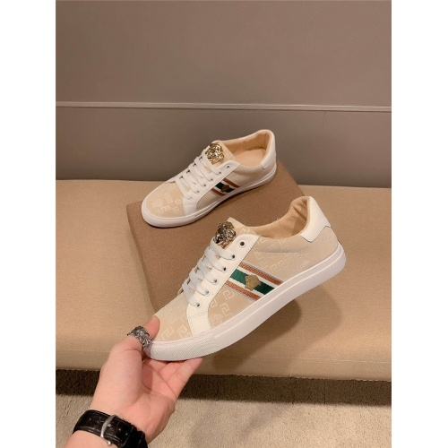 Replica Versace Casual Shoes For Men #801149 $69.84 USD for Wholesale