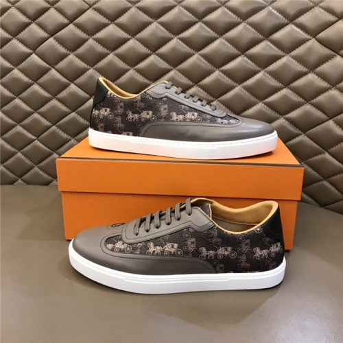 Hermes Casual Shoes For Men #801225 $69.84, Wholesale Replica Hermes Casual Shoes
