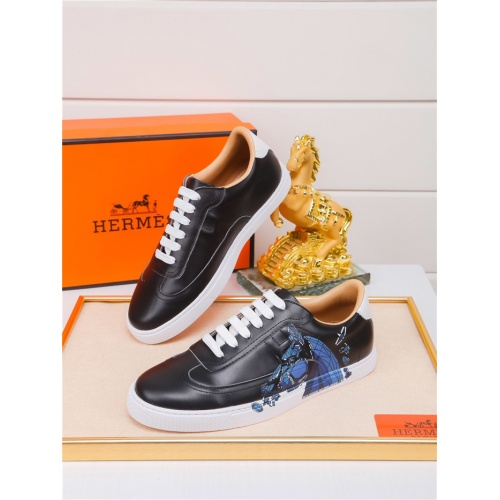 Hermes Casual Shoes For Men #801233 $79.54, Wholesale Replica Hermes Casual Shoes
