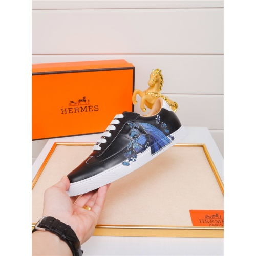 Replica Hermes Casual Shoes For Men #801233 $79.54 USD for Wholesale