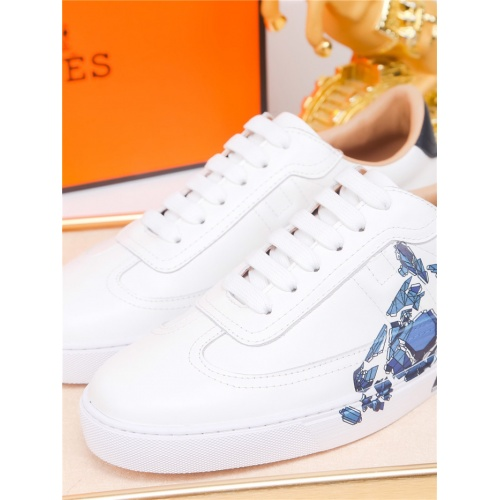 Replica Hermes Casual Shoes For Men #801234 $79.54 USD for Wholesale