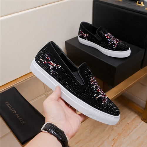 Replica Philipp Plein PP Casual Shoes For Men #801258 $69.84 USD for Wholesale