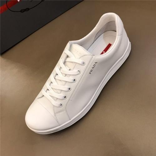 Replica Prada Casual Shoes For Men #801264 $69.84 USD for Wholesale