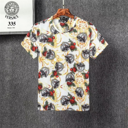 Versace T-Shirts Short Sleeved O-Neck For Men #801470
