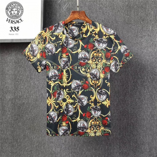 Versace T-Shirts Short Sleeved O-Neck For Men #801471