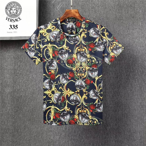 Replica Versace T-Shirts Short Sleeved O-Neck For Men #801471 $24.25 USD for Wholesale