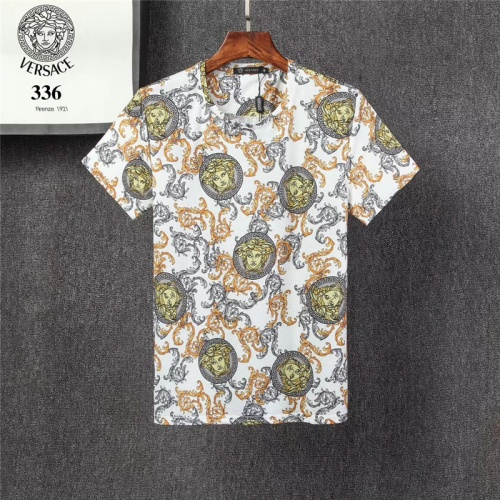 Versace T-Shirts Short Sleeved O-Neck For Men #801472