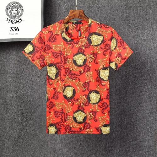 Versace T-Shirts Short Sleeved O-Neck For Men #801473