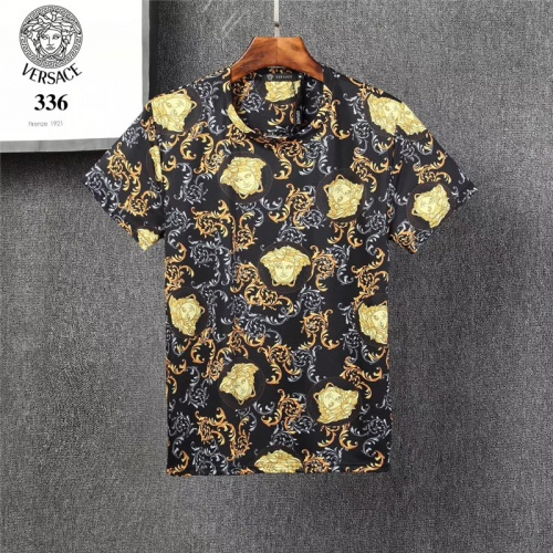 Versace T-Shirts Short Sleeved O-Neck For Men #801474