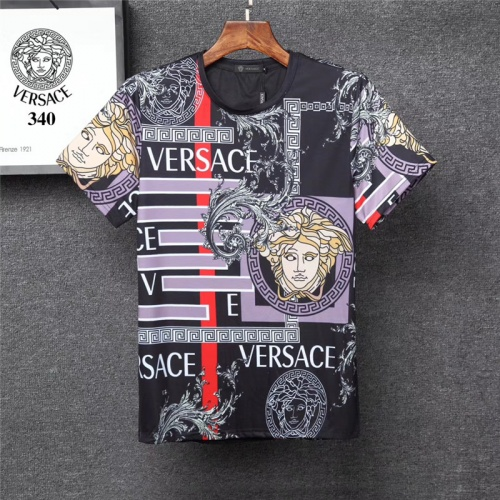 Versace T-Shirts Short Sleeved O-Neck For Men #801478
