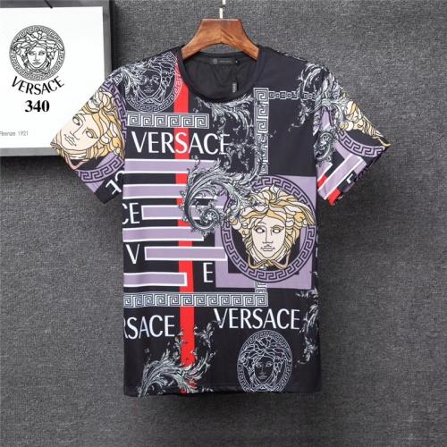 Versace T-Shirts Short Sleeved O-Neck For Men #801478