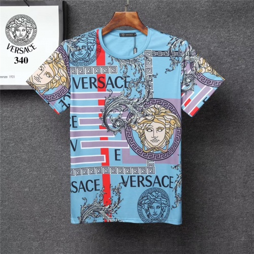 Versace T-Shirts Short Sleeved O-Neck For Men #801480