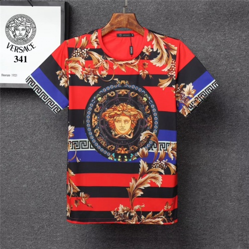 Versace T-Shirts Short Sleeved O-Neck For Men #801484 $24.25 USD, Wholesale Replica Versace T-Shirts