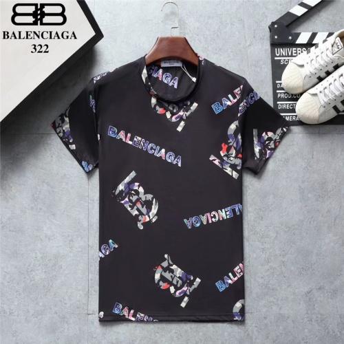 Balenciaga T-Shirts Short Sleeved O-Neck For Men #801528