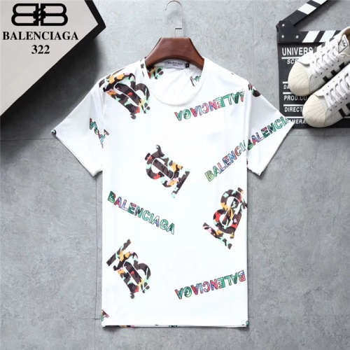 Balenciaga T-Shirts Short Sleeved O-Neck For Men #801530