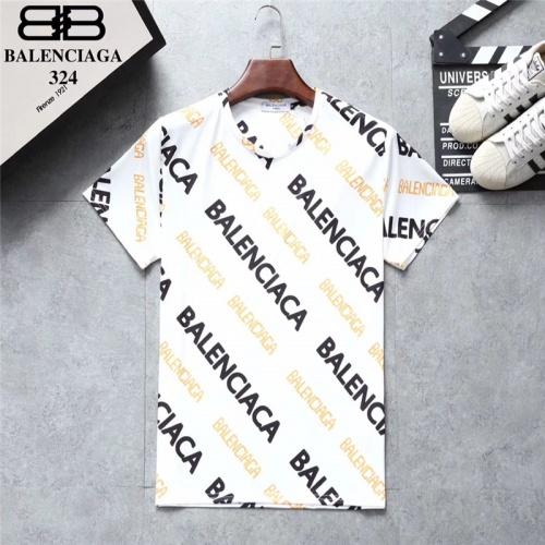Balenciaga T-Shirts Short Sleeved O-Neck For Men #801532