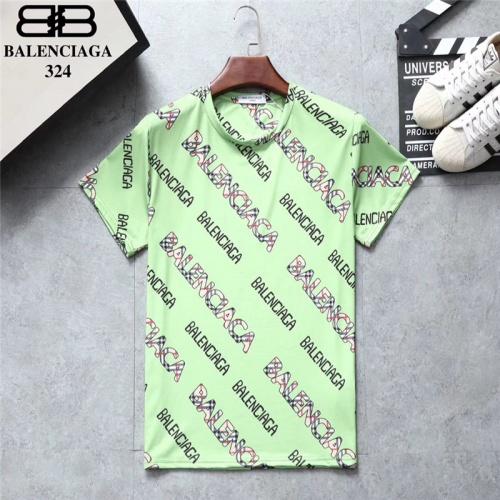 Balenciaga T-Shirts Short Sleeved O-Neck For Men #801533