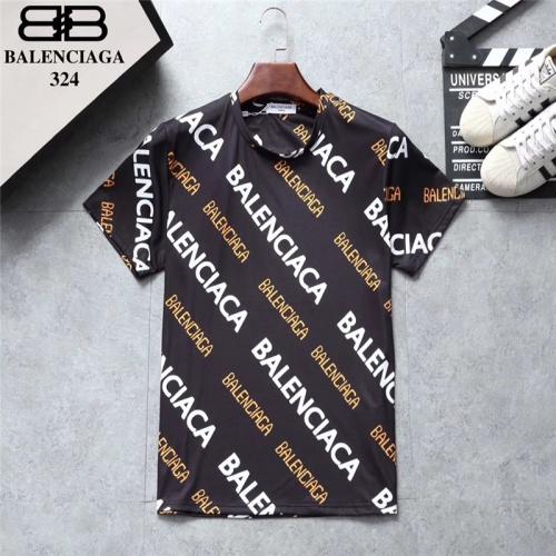 Balenciaga T-Shirts Short Sleeved O-Neck For Men #801534 $24.25, Wholesale Replica Balenciaga T-Shirts