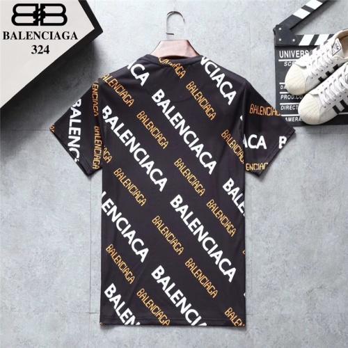 Replica Balenciaga T-Shirts Short Sleeved O-Neck For Men #801534 $24.25 USD for Wholesale