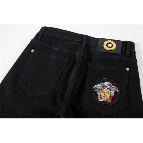 Replica Versace Jeans Trousers For Men #801572 $46.56 USD for Wholesale