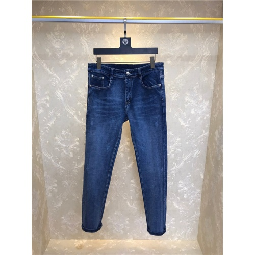Replica Versace Jeans Trousers For Men #801573 $46.56 USD for Wholesale