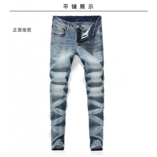 Replica Versace Jeans Trousers For Men #801575 $50.44 USD for Wholesale