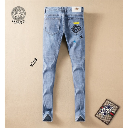 Replica Versace Jeans Trousers For Men #801577 $50.44 USD for Wholesale
