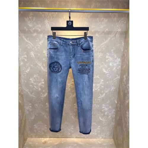 Versace Jeans Trousers For Men #801580 $54.32, Wholesale Replica Versace Jeans