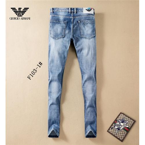 Armani Jeans Trousers For Men #801586 $46.56 USD, Wholesale Replica Armani Jeans