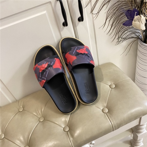 Fendi Slippers For Men #801789