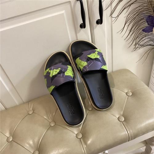 Fendi Slippers For Men #801790