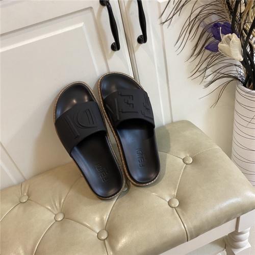 Fendi Slippers For Women #801791