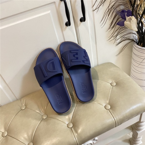 Fendi Slippers For Men #801802