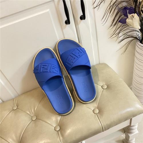 Fendi Slippers For Men #801803