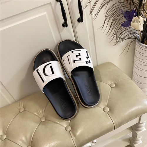 Fendi Slippers For Men #801804