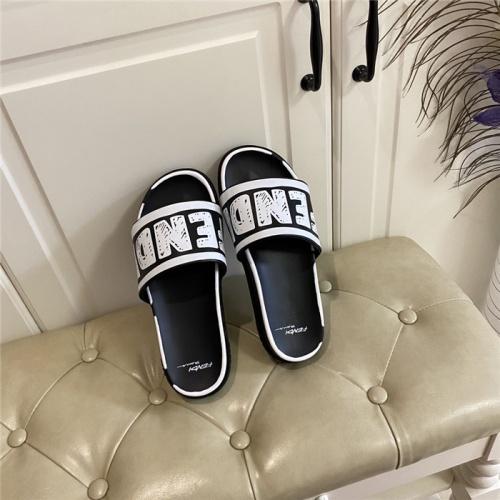 Fendi Slippers For Women #801805