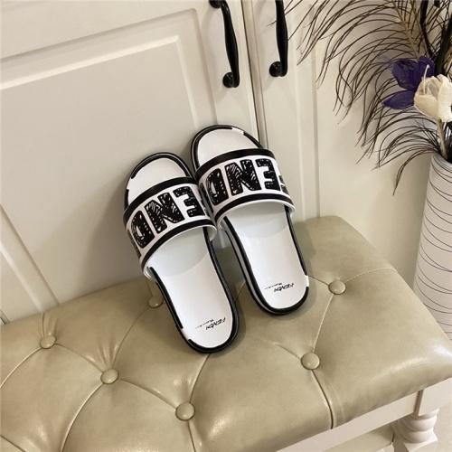 Fendi Slippers For Women #801807