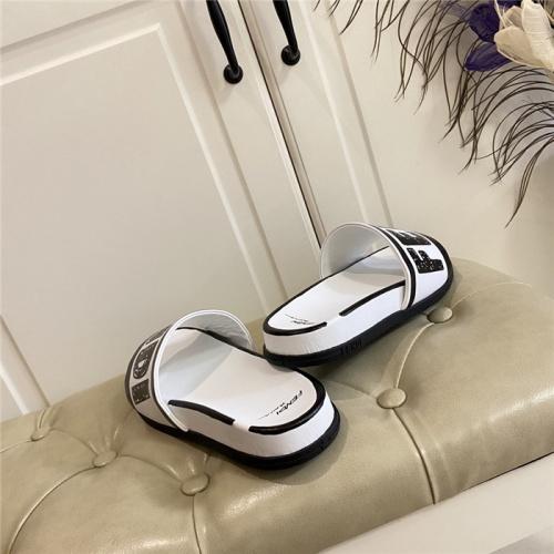 Replica Fendi Slippers For Women #801807 $69.84 USD for Wholesale
