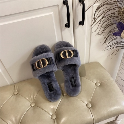 Christian Dior Slippers For Women #801813